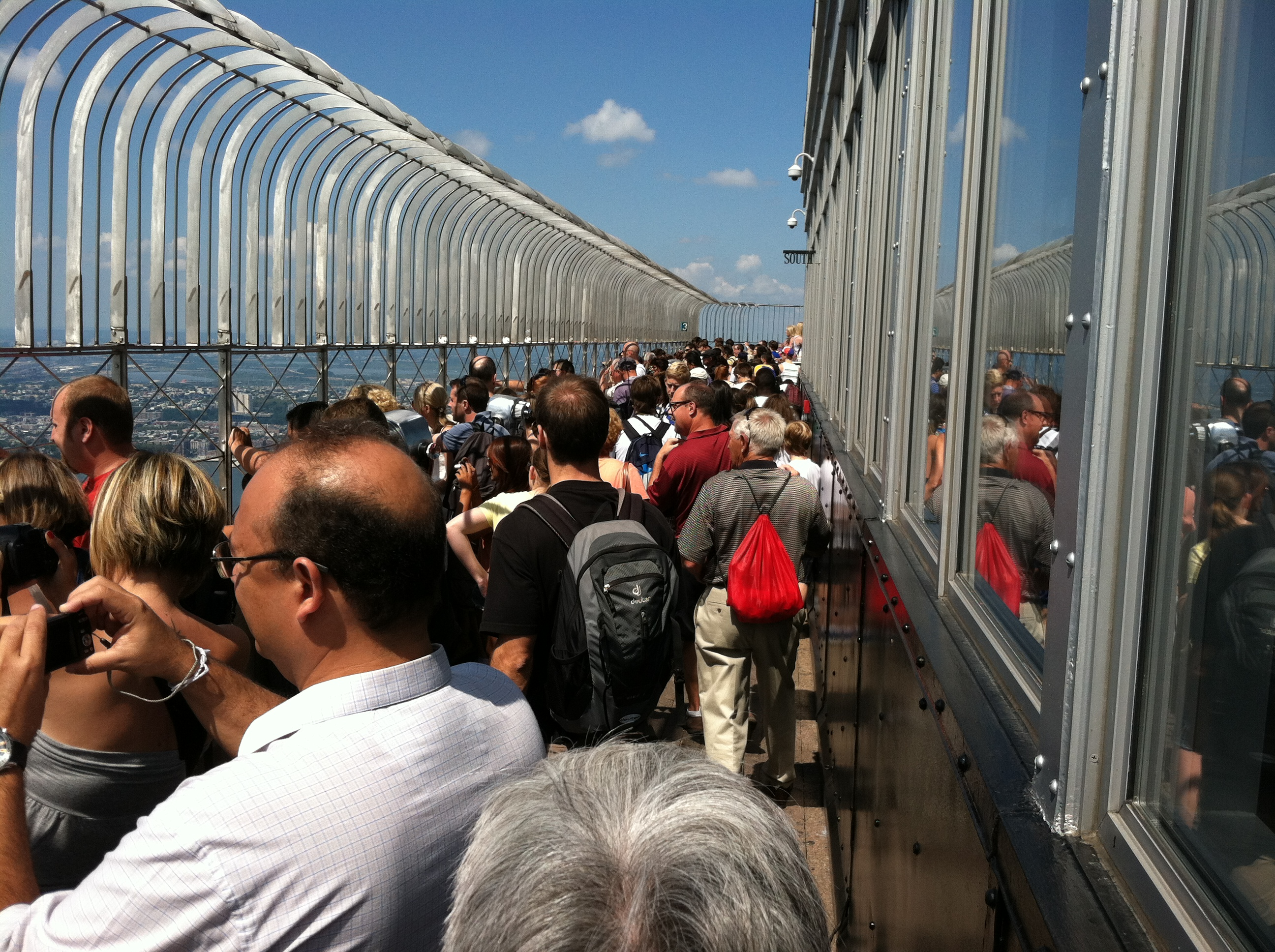 Planes trains and automobiles and buses and boats etc for 102nd floor of the empire state building