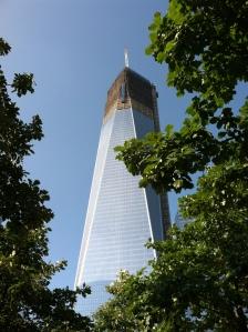 New World Trade Center Tower #1 under construction
