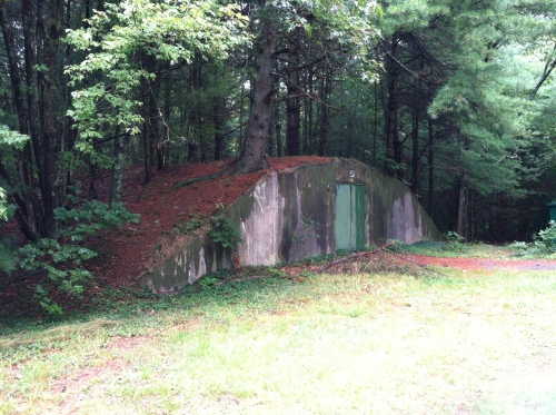 Old Concrete WWII Amunitions Bunker
