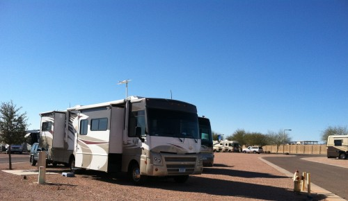 Cotton Lane RV and Mobile Home Resort, Site #13