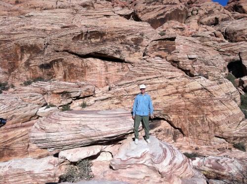 Bernie on the Rocks