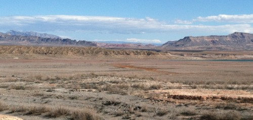 St. Thomas Town Site Where Lake Mead Has Receeded