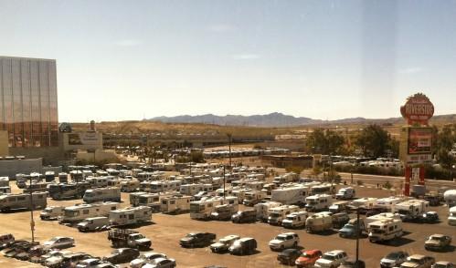 Riverside Casino Parking Lot