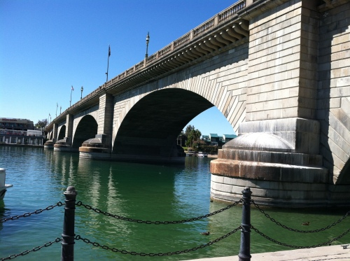 London Bridge at Lake Havasu City, Arizona