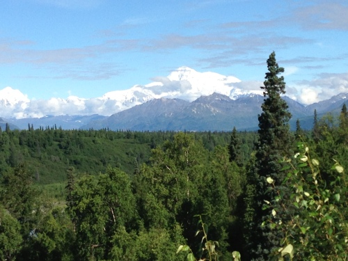 Mount McKinley from Denali Viewpoint South