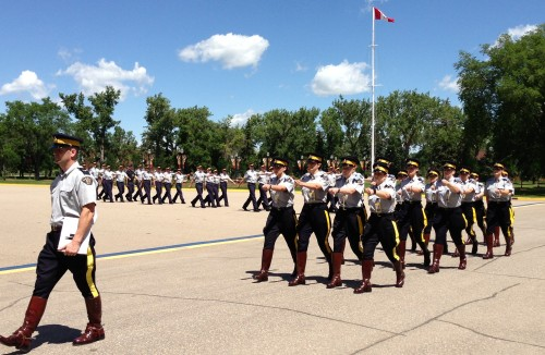 Royal Canadian Mounted Police Academy Parade
