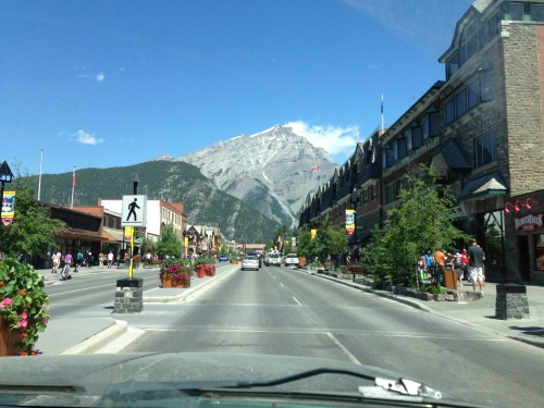 Downtown Banff, Alberta, CA