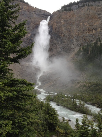 Takakkaw Water Falls