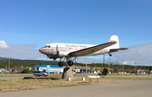 DC-3 Weather Vane, Whitehorse, Yukon Territory