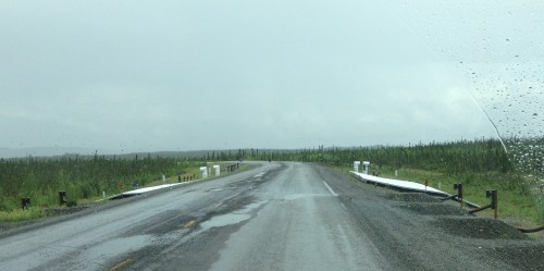Alaska Highway Permafrost Research Project