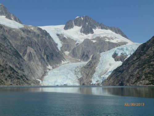 This is One of the Glaciers We Came to See and the Turnaround Point of Our Tour