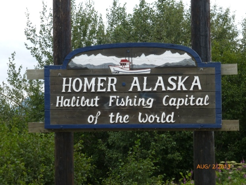 Homer Alaska, Halibut Fishing Capital of the World