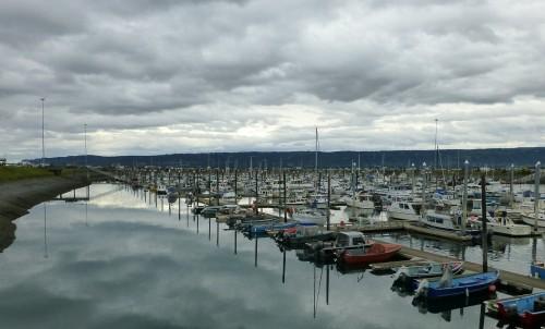 Small Boat Harbor at Homer, AK