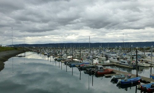 Small Boat Harbor at Homer, AK