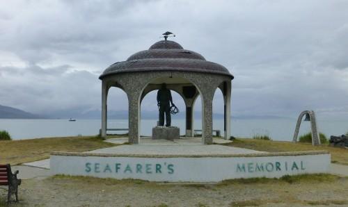 Seafarers Memorial, Homer, AK