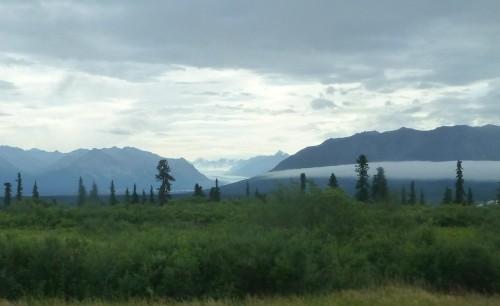 View from Glenn Highway