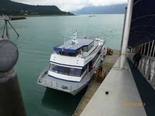 Fast Ferry to Skagway