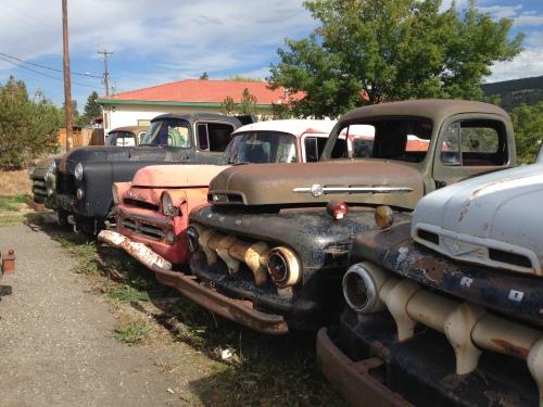 Some Old Trucks