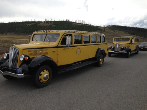 1930's Refurbished Tour Busses
