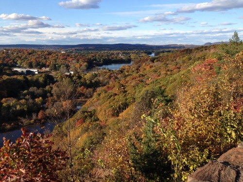 View From East Rock Park in New Haven, CT