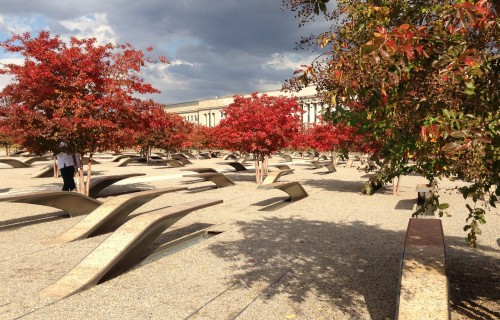 Pentagon Memorial for 9/11