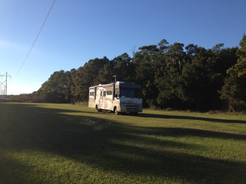 Overflow Lot at James Island County Park