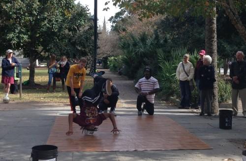 Break Dancing in the Park