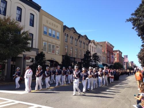 Veteran's Day Parade in Savannah, Georgia