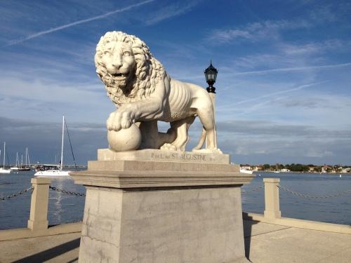 Lion on the Bridge of Lions