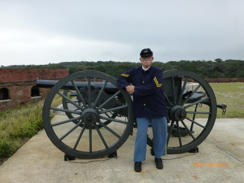 Union Soldier at Fort Clinch