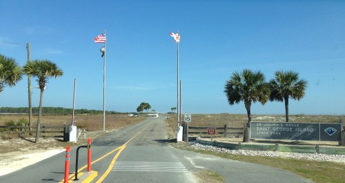 St. George Island State Park Entrance