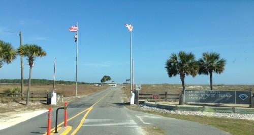 St. George Island State Park Entrance