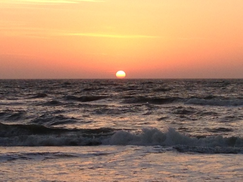 Sunrise of Gulf of Mexico