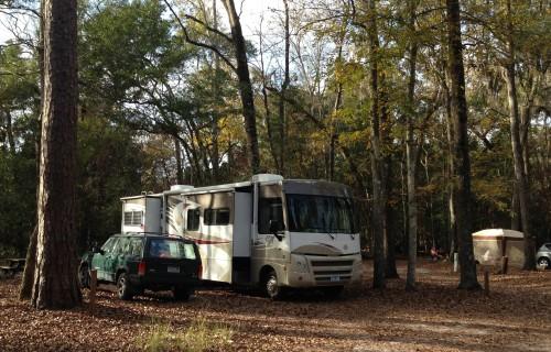 Manatee Springs State Park Campground, #98