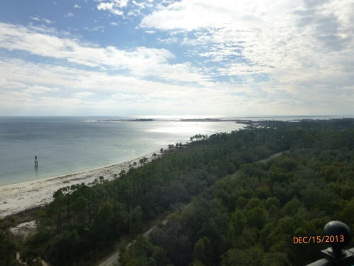 View From Pensacola Lighthouse