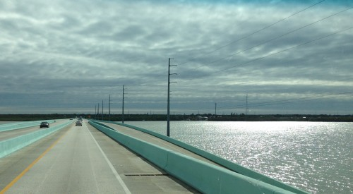 Entering The Florida Keys