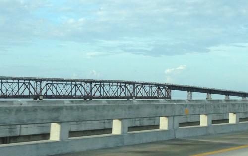 Bridge Near Bahia Honda State Park.