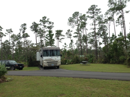 Long Pine Key Campground in Everglades National Park