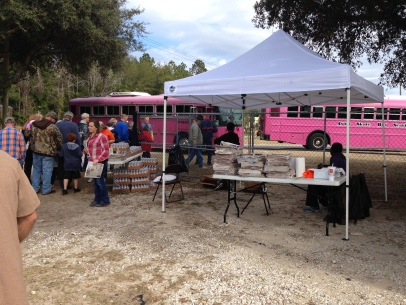 Shuttle Buses to the Kumquat Festival