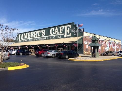 Lambert's Cafe in Foley, Alabama
