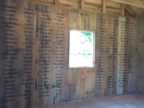 Slave Names