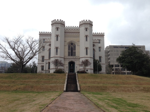 Historic Old Capitol Building in Baton Rouge