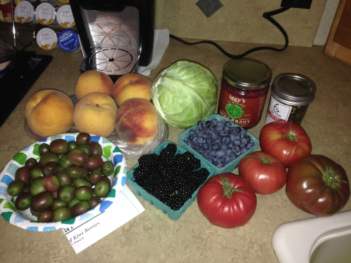The Loot From the Farmers Market