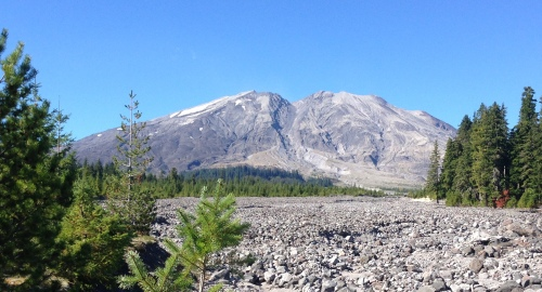 Mount St Helens, South Side