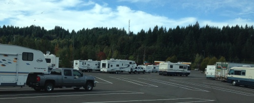 Spirit Mountain Casino RV Parking