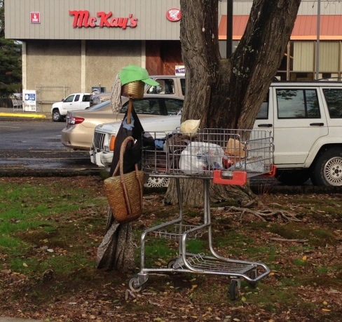 Scarecrow Grocery Shopping