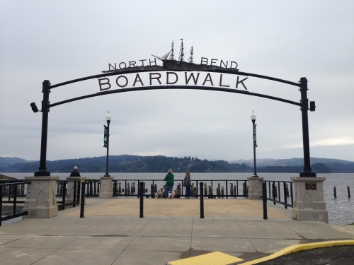 North Bend Boardwalk