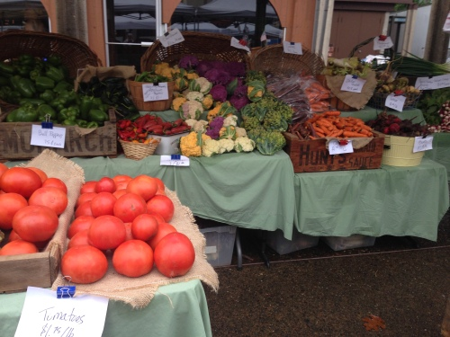 Farmers Market, Coos Bay