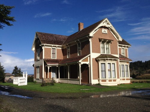 Historic Hughes House at Cape Blanco