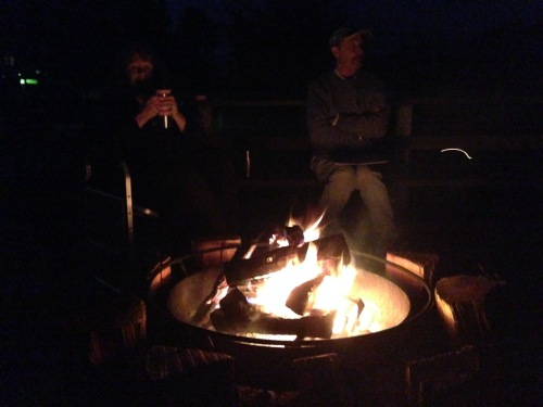 Campfire with New Friends